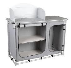 meuble cuisine trigano meuble cuisine de cing pliante avec évier placard et pare vent