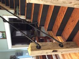 garage interior stairs with landing pre made outdoor wood steps