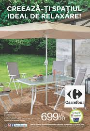 Carrefour Table Pliante by Catalog Carrefour Gradina 17 Martie 04 Mai 2016 Catalog Az