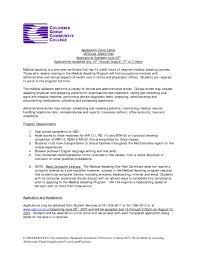 cover letter for medical assistant job medical assistant cover