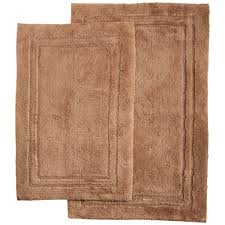bathroom alluring two piece bathroom rug sets in red and brown
