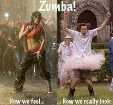 Funny Zumba Memes - zumba how we feel vs how we look