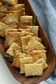 rosemary sea salt crackers recipe salt crackers homemade