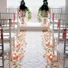 wedding aisle ideas carece s ideas for wedding aisle decorations flowers and