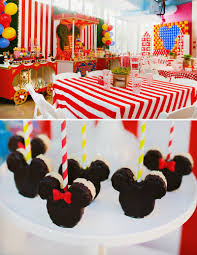 first birthday circus dazzling mickey u0026 minnie circus birthday party mickey mouse