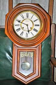 Emperor Grandfather Clock Value Vintage 31 Day Tall Waltham Chime Regulator Wall Clock In 31 Day