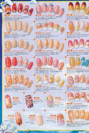 nail art japanese july magazine nail art pinterest