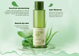 nature republic soothing moisture aloe vera 90 toner 160ml