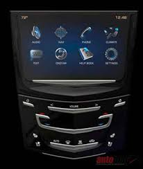 cadillac srx cue system cadillac cue gm s luxury brand ups the infotainment w