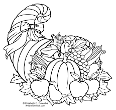 coloring page winsome cornucopia coloring lovely beautiful pages