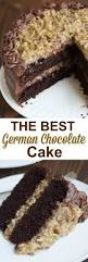 the best homemade german chocolate cake with layers of coconut