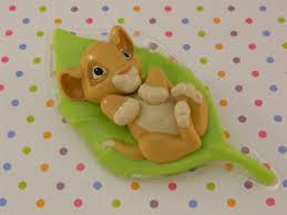 lion cake topper baby simba cake topper baby shower lion king baby celebration cake
