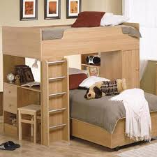 twin bed desk combo loft bunk bed with desk combination herbert natural oak wood twin