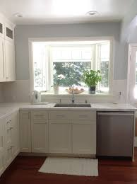 Small Kitchen With White Cabinets Modern Small White Kitchens Decoration Ideas Inside Kitchen