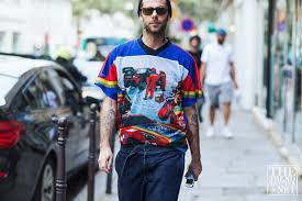 the best street style from paris men u0027s fashion week ss17