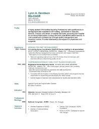nursing resume with experience experienced nurse resume exles