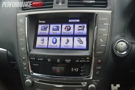 lexus is 250 navigation 2013 lexus is 250 c f sport review video performancedrive