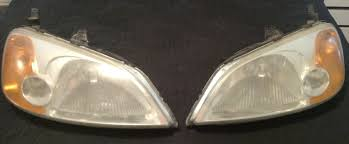 fs oem 2002 civic ex headlights used great condition honda
