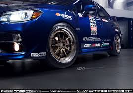 bronze subaru wrx subaru wrx sti adv10 track function cs series wheels