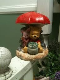 after painting the winnie the pooh garden statue how does my