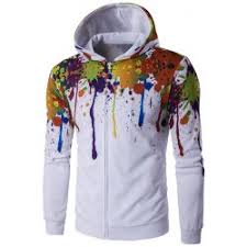 paint splatter hoodie sale online at cheap prices