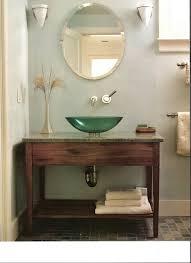 contemporary vessel sink vanity modern vessel sinks popular mahogany vanity with green sink bathroom