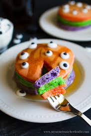 halloween trick or treat pancake recipe halloween tricks