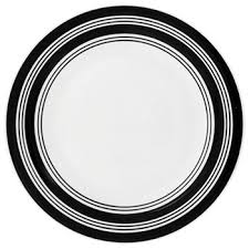 white serving plate dollartree