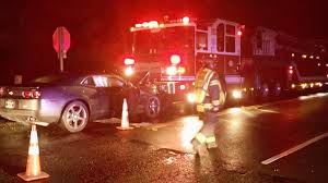 police separate dui drivers hit kent squad car kent fire truck