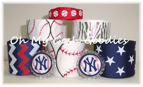 baseball ribbon baseball grosgrain ribbon ribbon new york yankees baseball