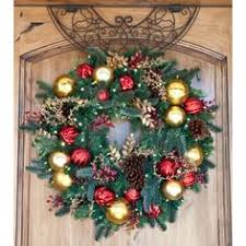 30 artificial wreath pre lit battery operated led lights