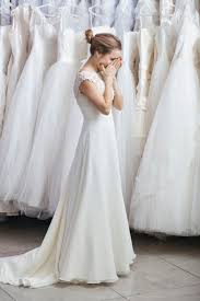 wedding dress shopping shop for a wedding dress without yourself miserable here s