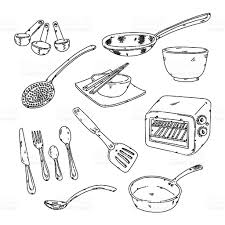 kitchen stuff stock vector art 135902798 istock