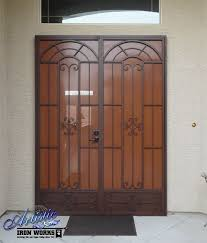 French Door Security Bar - best 25 wrought iron security doors ideas on pinterest security