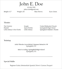 resume template for wordpad resumes templates word lidazayiflama info