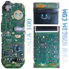 nokia 100 full pcb diagram mother board layout mobile repairing