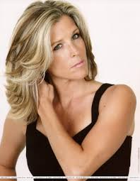 laura wright hair ah laura wright she has gorgeous hair wish i could have her