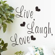 Live Love Laugh Home Decor Cheap Live Laugh Love Wall Stickers Find Live Laugh Love Wall