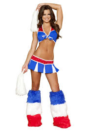 Female Football Halloween Costume Cheerleader Costumes Women