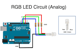 rgb led ardunity documents