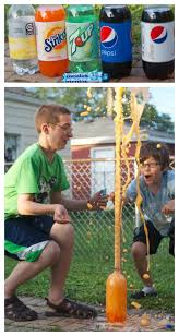 classic science mentos and soda experiment