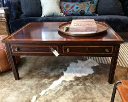 1940s Desk Vintage Partners Desk 1940s Made Into Coffee Table 650 Hammertown