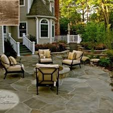 Backyard Flagstone Patio Ideas 323 Best Stone Patio Ideas Images On Pinterest Patio Ideas
