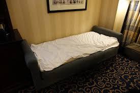 single sofa bed picture of disneyland hotel anaheim tripadvisor