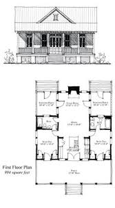 cabin floorplan narrow lot home plan 67535 total living area 860 sq ft 2