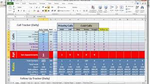 Sales Lead Tracking Spreadsheet Activity Tracker Tutorial And Download Instructions Youtube