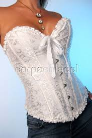 corset bustier serre taille top mariage blanc noir neuf corsets