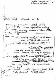 Bad Girls Lyrics Hand Written Madonna Lyrics Madonnatribe Decade