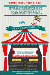 printable circus templates 14 blank circus invitations templates