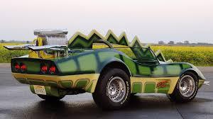 cars chevrolet corvette green deathrace 2000 wallpaper